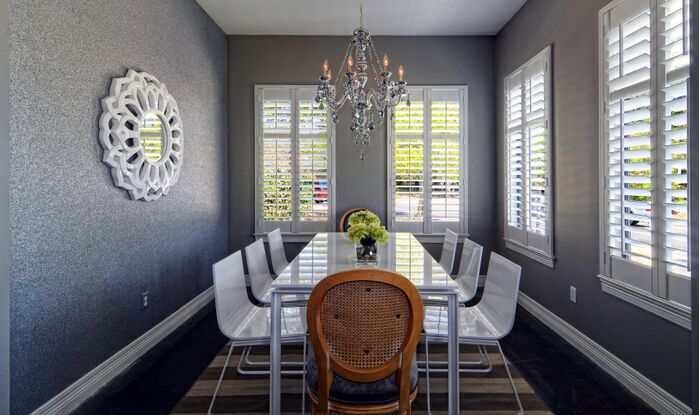 Contemporary Dining Room photo by Esther LaVonne Design
