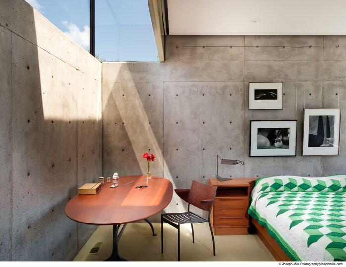 Modern Bedroom photo by Fitzsimmons Architects
