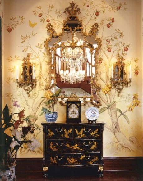 Traditional Entryway and Hallway photo by Tracy Murdock Interior Design