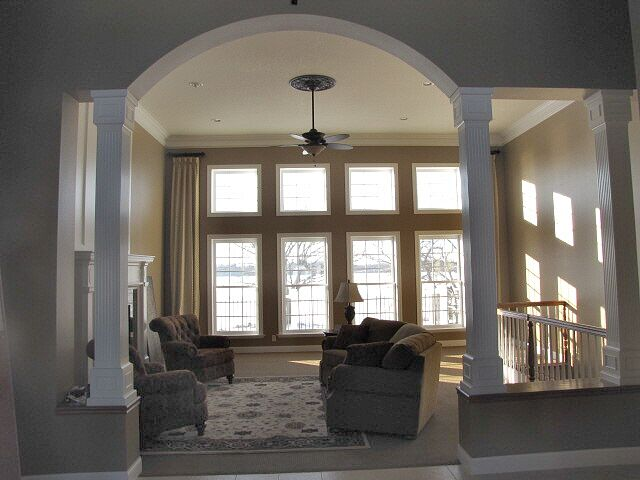 Traditional Living Room photo by Timeless Designs by Melissa LL