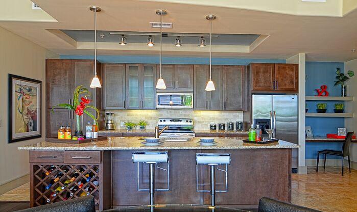 Contemporary Kitchen photo by Esther LaVonne Design