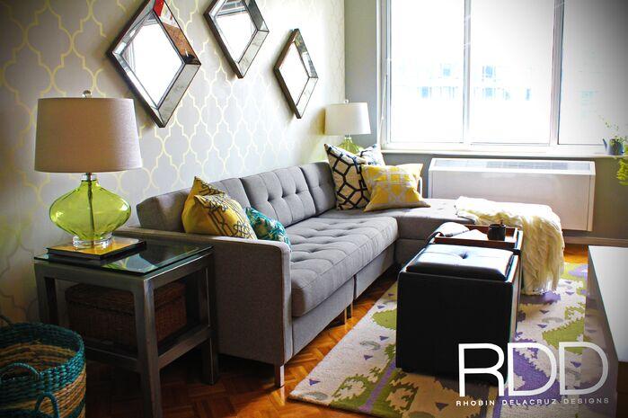 Contemporary Living Room photo by Rhobin DelaCruz Designs