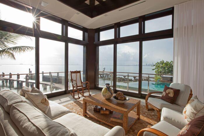 Coastal Exterior/Patio photo by B. Pila Design Studio