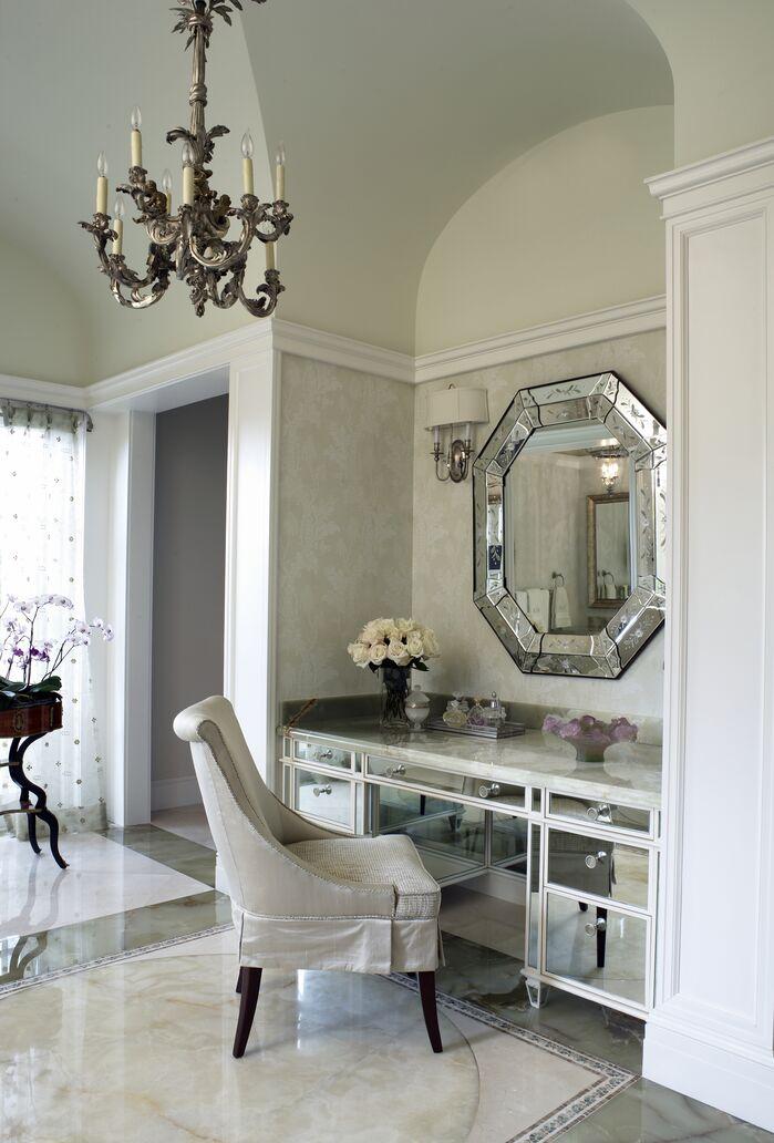 Traditional Bathroom photo by B. Pila Design Studio