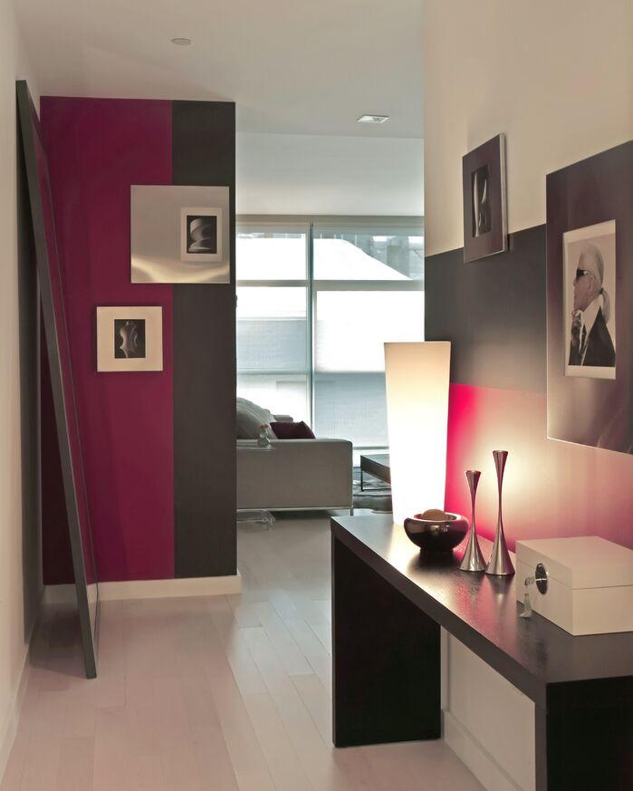 Modern Entryway and Hallway photo by Barbara Saskia Design