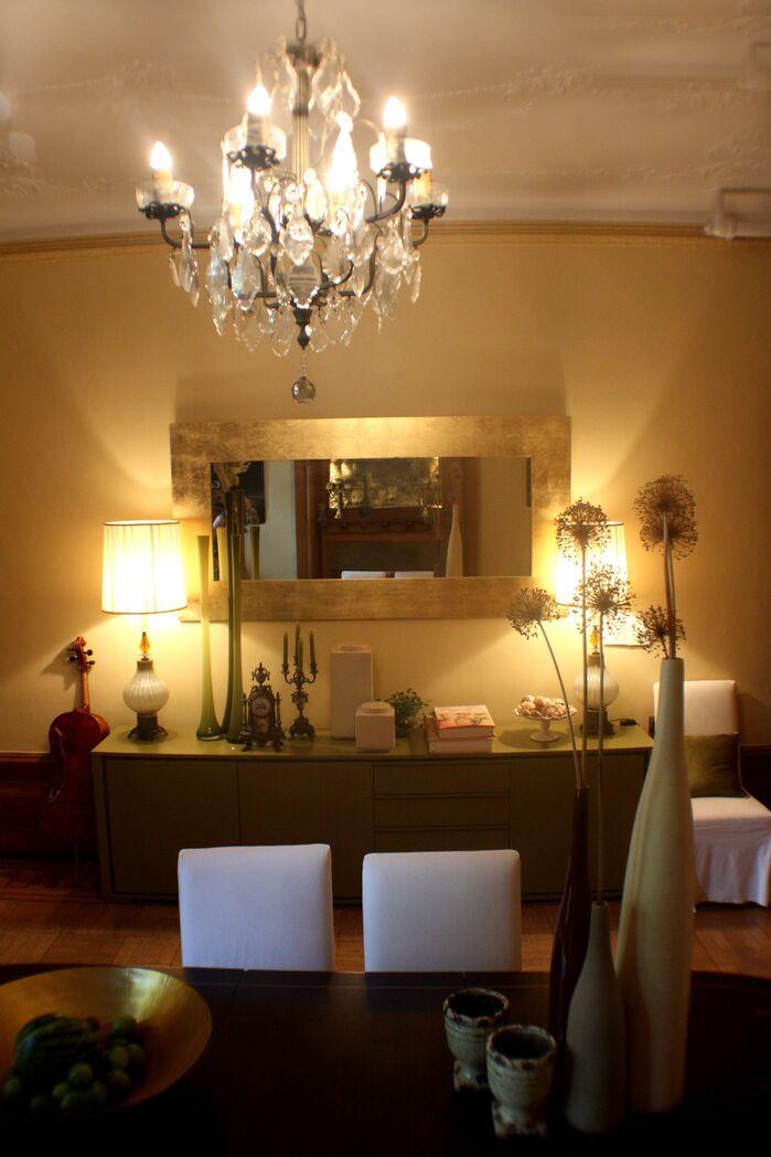Eclectic Dining Room photo by Barbara Saskia Design