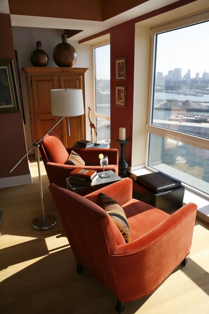 Contemporary Living Room photo by Barbara Saskia Design