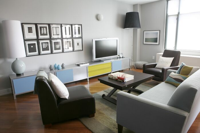 Modern Living Room photo by Barbara Saskia Design