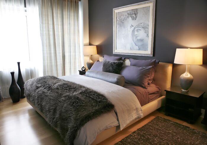 Eclectic Bedroom photo by Barbara Saskia Design