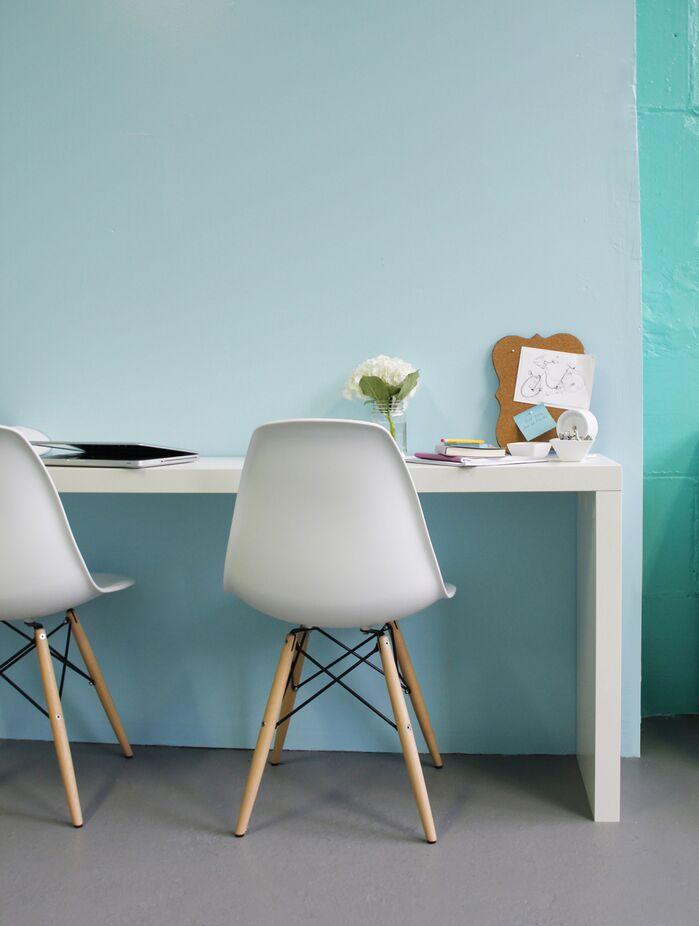 Modern Home Office photo by Victoria Elizabeth Design