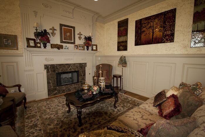 Traditional Living Room photo by Brandi Renee Designs, LLC