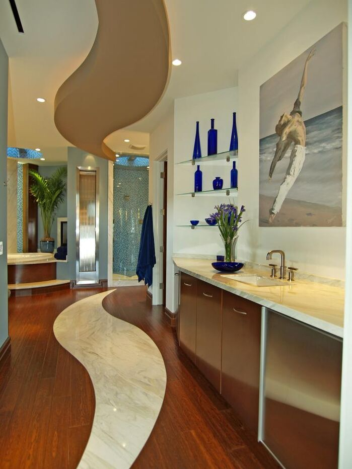 Contemporary Bathroom photo by Michael Chambers Design