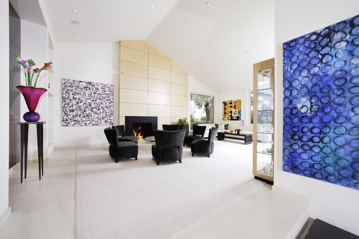 Modern Living Room photo by Benning Design
