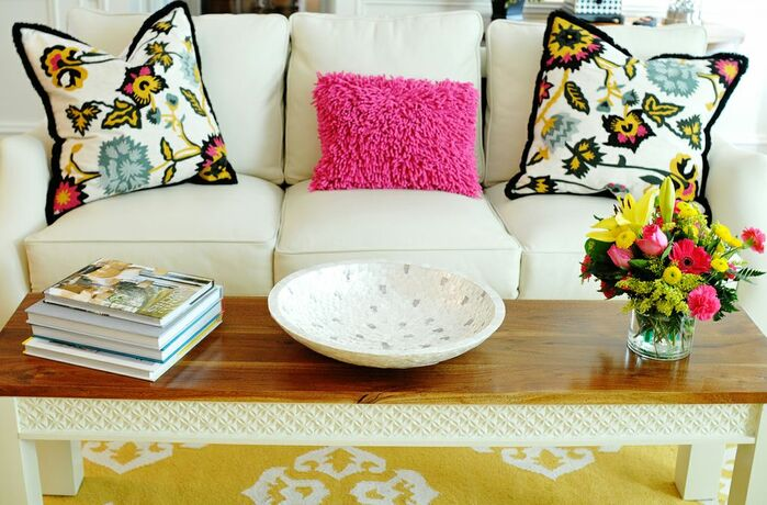 Eclectic Living Room photo by Kandrac & Kole Interior Designs
