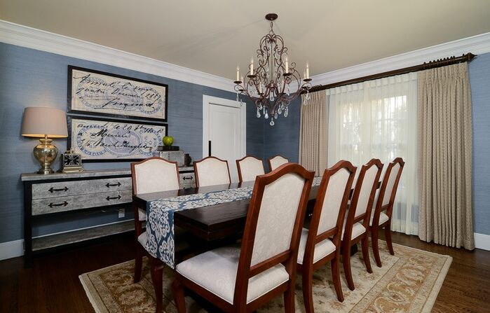 Traditional Dining Room photo by Kerrie Kelly Design Lab