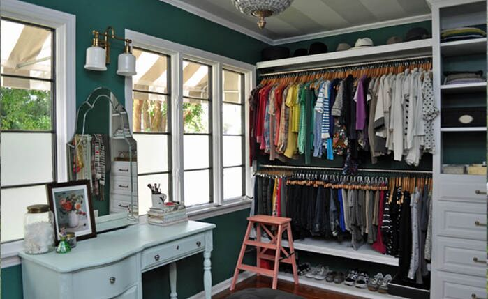 Eclectic Closet photo by Niki Landry Designs, LLC