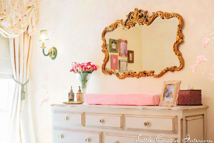 Traditional Nursery photo by Little Crown Interiors