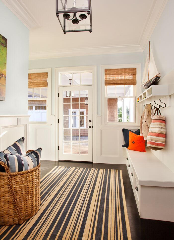 Contemporary Laundry/Mud Room photo by Garrison Hullinger Interior Design