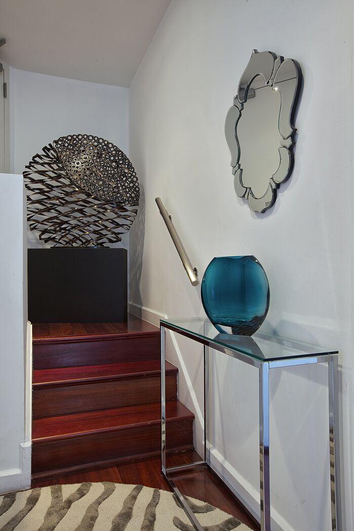 Modern Entryway and Hallway photo by Marie Burgos Design