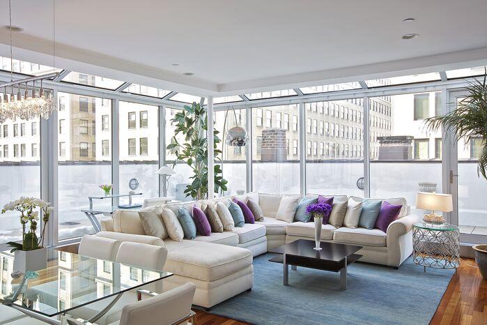Modern Living Room photo by Marie Burgos Design