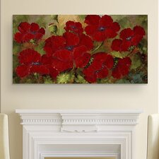Crimson Collection: Red Wall Art