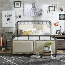 Industrial-Inspired Bedroom