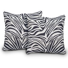 Bella Microsuede Throw Pillow (Set of 2)