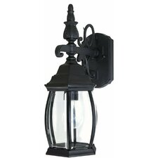 French Country 1 Light Wall Lantern