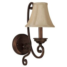 Cumberland 1 Light Wall Sconce with Shade