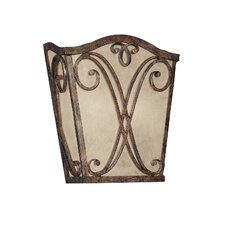 Reserve 2 Light Wall Sconce with Mica Panel Shade