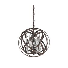 Orpheus 3 Light Globe Pendant