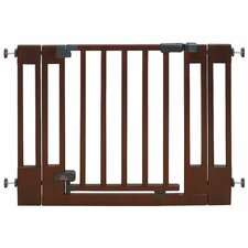 Home Safe Deluxe Wood Gate