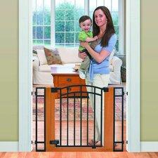 Stylish & Secure Wood & Metal Walk Thru Gate