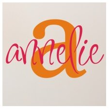 Personalized Annelie's Monogram Wall Decal