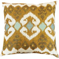 The Eye Cotton Throw Pillow