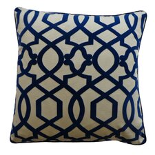 Tangled Cotton Throw Pillow