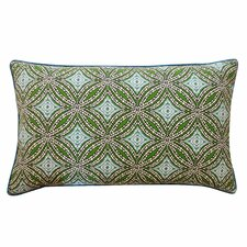 Turtle Pebble Cotton Lumbar Pillow