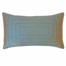 Pyramid Silk Lumbar Pillow