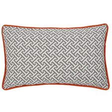 Maze Cotton Lumbar Pillow