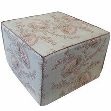 Geisha Cotton Cube Ottoman