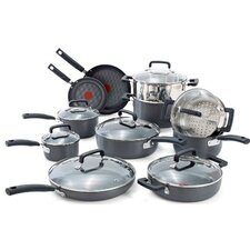 Signature Hard Anodized 18 Piece Cookware Set