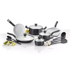 Initiatives Ceramic 16 Piece Cookware Set