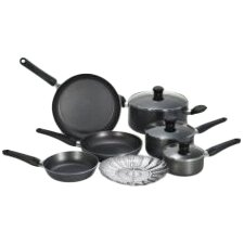 Initiatives Aluminum 10 Piece Cookware Set