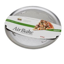 Airbake Natural Large Aluminum Pizza Pan