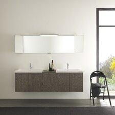 """Ekochic 69"""" Double Bathroom Vanity Set"""