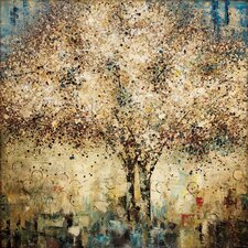 Whispering Tree Painting Print on Canvas