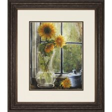 Morning Afternoon 2 Piece Framed Painting Print Set