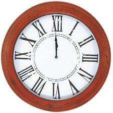 "Oversized 23"" Metal Wall Clock"