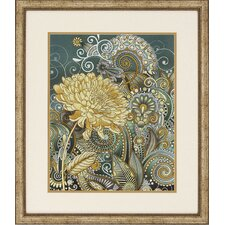 Inspired Blooms 2 Piece Framed Graphic Art Set