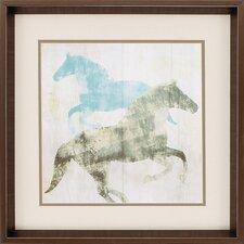 Equine2 Piece Framed Painting Print Set